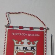 Coleccionismo deportivo: FEDERACIÓN NAVARRA DE FUTBOL. Lote 235821765