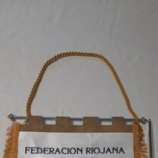 Coleccionismo deportivo: FEDERACIÓN RIOJANA DE FUTBOL. Lote 235829110