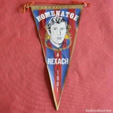 Coleccionismo deportivo: CARLES REIXACH - ANTIGUO BADERIN - 1981 - FUTBOL CLUB BARCELONA. Lote 235922680