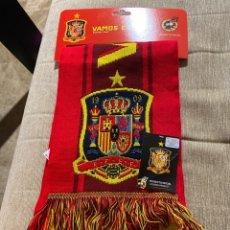 Coleccionismo deportivo: BUFANDA SELECCION ESPAÑOLA-VAMOS ESPAÑA. Lote 236989720
