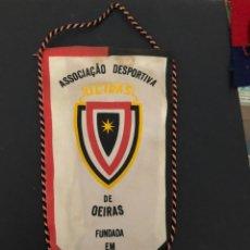 Coleccionismo deportivo: ANTIGUO BANDERIN EQUIPO ASSOCIAÇIAO DESPORTIVA OEIRAS BRASIL. Lote 237067865