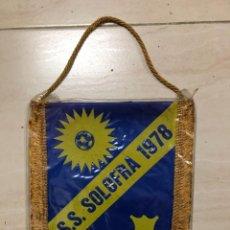 Coleccionismo deportivo: ANTIGUO BANDERIN FUTBOL SS SOLOFRA 1978 ITALIA. Lote 237131060