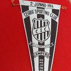 Collezionismo sportivo: BANDERIN FUTBOL BRASIL CEARA SPORTING CLUB CAMPEON 1963 ORIGINAL B3. Lote 237481010