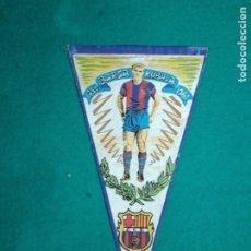 Coleccionismo deportivo: BANDERIN BARÇA HOMENAJE A KUBALA 1950 - 1961.. Lote 238594720