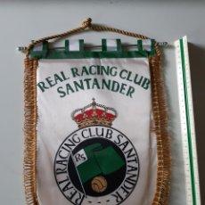 Collezionismo sportivo: LOTE DE 8 BANDERINES EQUIPOS DE FUTBOL AÑOS 80-90 RACING SANTANDER HERCULES CADIZ ASCENSO 1981. Lote 238623155
