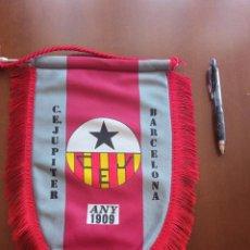 Coleccionismo deportivo: CE JUPITER BANDERIN PENNANT FOOTBALL FUTBOL BANDERIN BANDERIOLA. Lote 243879750