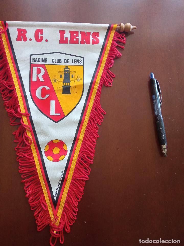RC LENS BANDERIN PENNANT FOOTBALL FUTBOL BANDERIN BANDERIOLA (Coleccionismo Deportivo - Banderas y Banderines de Fútbol)