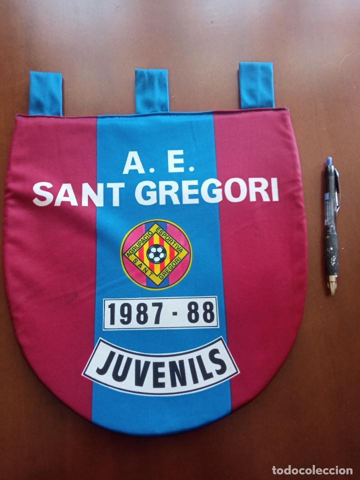 AE SANT GREGORI BANDERIN PENNANT FOOTBALL FUTBOL BANDERIN BANDERIOLA (Coleccionismo Deportivo - Banderas y Banderines de Fútbol)