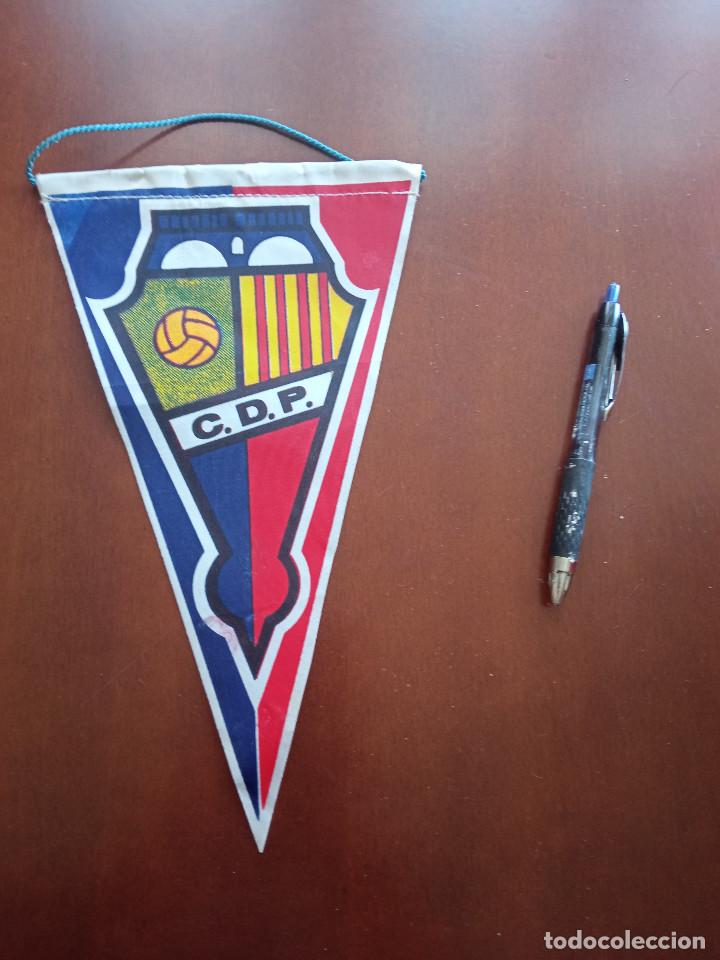 CDP CATALUNYA BANDERIN PENNANT FOOTBALL FUTBOL BANDERIN BANDERIOLA (Coleccionismo Deportivo - Banderas y Banderines de Fútbol)