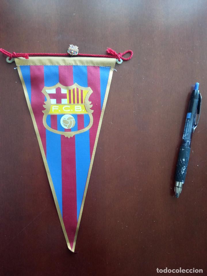 FC BARCELONA BANDERIN PENNANT FOOTBALL FUTBOL BANDERIN BANDERIOLA (Coleccionismo Deportivo - Banderas y Banderines de Fútbol)