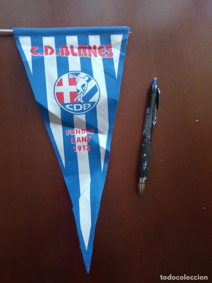 CD BLANES BANDERIN PENNANT FOOTBALL FUTBOL BANDERIN BANDERIOLA (Coleccionismo Deportivo - Banderas y Banderines de Fútbol)