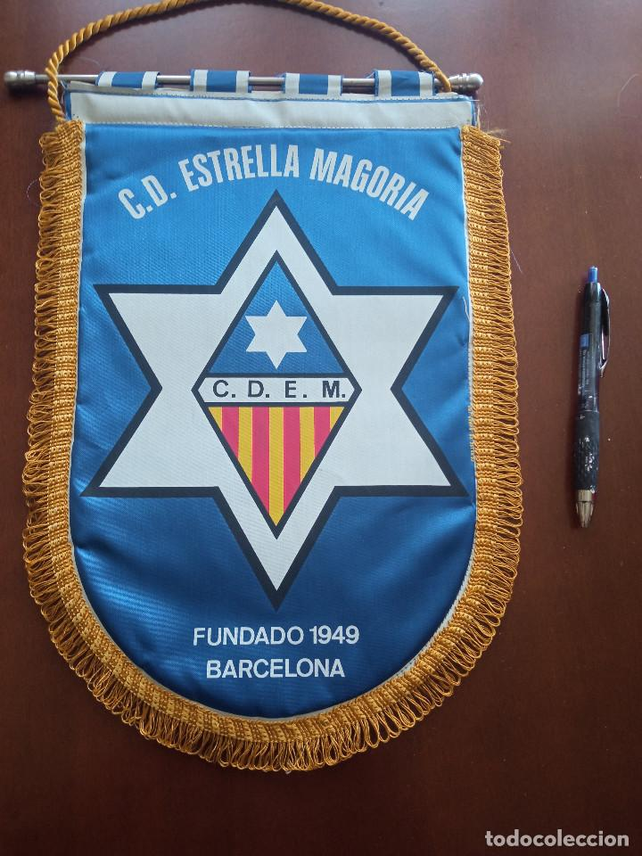 CD ESTRELLA MAGORIA BANDERIN PENNANT FOOTBALL FUTBOL BANDERIN BANDERIOLA (Coleccionismo Deportivo - Banderas y Banderines de Fútbol)