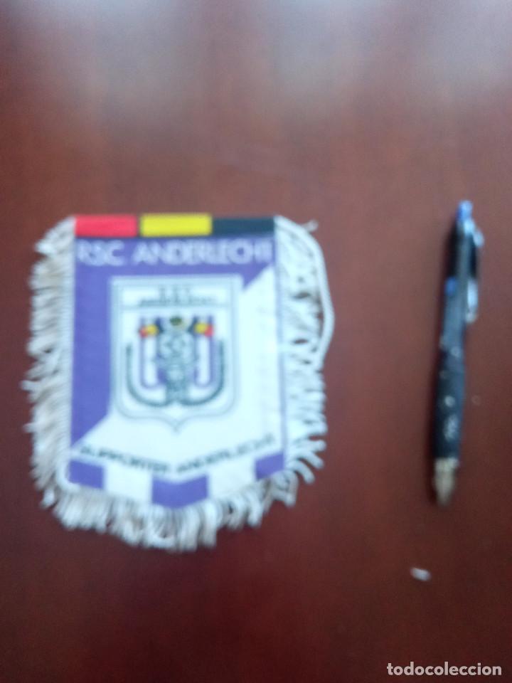 RSC ANDERLECHT BANDERIN PENNANT FOOTBALL FUTBOL BANDERIN BANDERIOLA (Coleccionismo Deportivo - Banderas y Banderines de Fútbol)