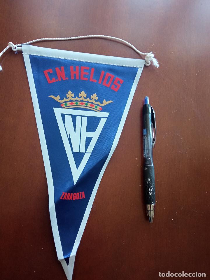 CN HELIOS NATACION BANDERIN PENNANT FOOTBALL FUTBOL BANDERIN BANDERIOLA (Coleccionismo Deportivo - Banderas y Banderines de Fútbol)