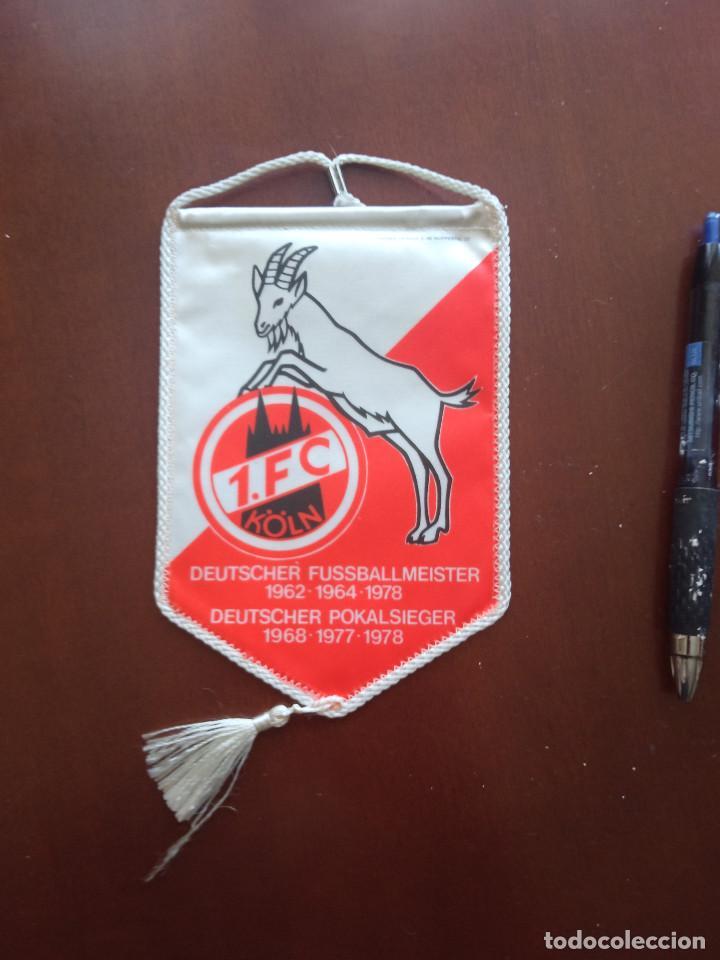 KOLN BANDERIN PENNANT FOOTBALL FUTBOL BANDERIN BANDERIOLA (Coleccionismo Deportivo - Banderas y Banderines de Fútbol)