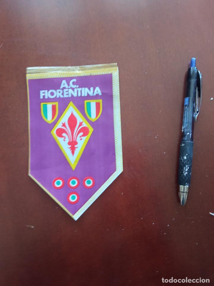 AC FIORENTINA BANDERIN PENNANT FOOTBALL FUTBOL BANDERIN BANDERIOLA (Coleccionismo Deportivo - Banderas y Banderines de Fútbol)