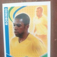 Coleccionismo deportivo: CROMO MATCH ATTAX DE ROBINHO. Lote 244990325
