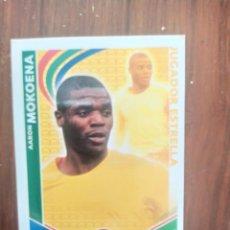 Coleccionismo deportivo: CROMO MATCH ATTAX DE AARON MOKOENA. Lote 244990605