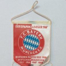 Coleccionismo deportivo: BANDERIN BAYERN DE MUNICH 1971. Lote 245580500
