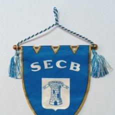 Collezionismo sportivo: BANDERIN FUTBOL S.E CIVITAS BASTIA FRANCIA. Lote 245654465