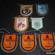 Coleccionismo deportivo: LOTE 7 BANDERINES DIVERSOS (VER RELACIÓN). Lote 248453285