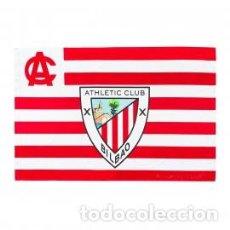 Colecionismo desportivo: BANDERA DEL ATHLETIC CLUB DE BILBAO . OFICIAL 155 X 100. Lote 252288515