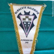 Coleccionismo deportivo: FÚTBOL ALBACETE BALOMPIÉ BANDERÍN. Lote 257364085