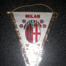 Coleccionismo deportivo: BANDERÍN MILAN CALCIO ITALIA. Lote 262181460