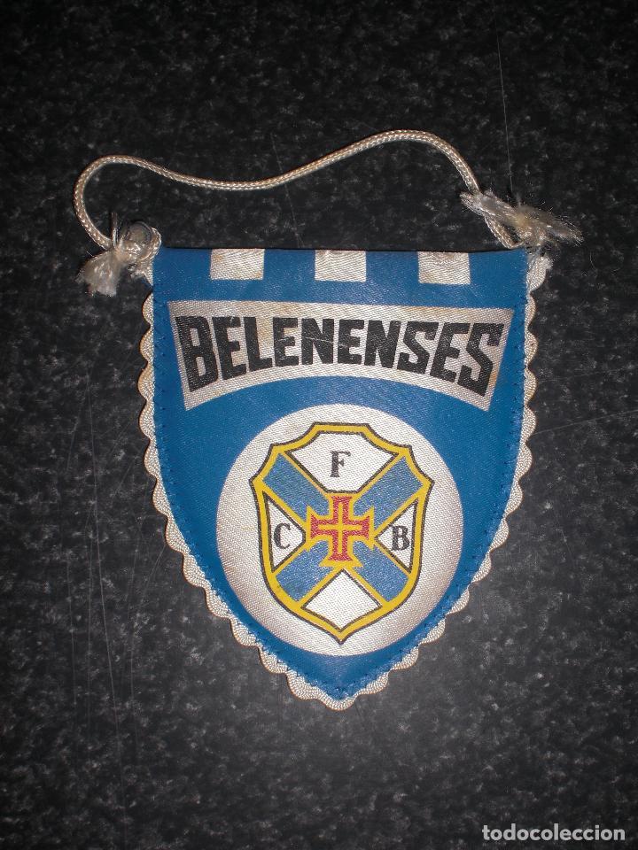 BANDERÍN BELENENSES PORTUGAL (Coleccionismo Deportivo - Banderas y Banderines de Fútbol)