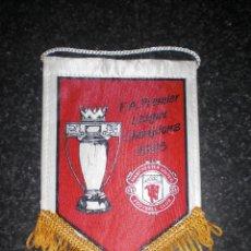 Coleccionismo deportivo: BANDERÍN CONMEMORATIVO MANCHESTER UNITED CAMPEÓN PREMIER LEAGUE 1993. Lote 262182270