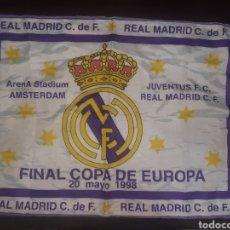 Coleccionismo deportivo: BANDERA,FINAL COPA DE EUROPA. 1998.LA 7.. Lote 262206885