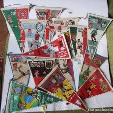 Coleccionismo deportivo: 14 BANDERINES CAMPEONATO DEL MUNDO DE FUTBOL 1966. Lote 262270230