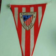 Coleccionismo deportivo: ANTIGUO BANDERIN ATHLETIC DE BILBAO MARGI .BANDERIN ATLETICO BILBAO MARGI ANTIGUO. Lote 262636145