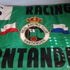 Coleccionismo deportivo: BANDERA RACING DE SANTANDER. Lote 262767005
