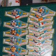 Coleccionismo deportivo: 25 VITOLAS MINDIAL FUTBOL 82 ESPAÑA NUEVAS PERFECTAS. Lote 267194894