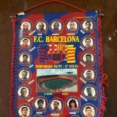 Coleccionismo deportivo: BANDERIN F.C. BARCELONA TEMPORADA 96 97 2ª VOLTA. Lote 267369769