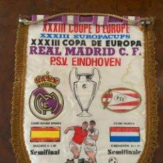 Coleccionismo deportivo: XXXIII COPA DE EUROPA REAL MADRID P.S.V. EINDHOVEN SEMIFINAL. Lote 267372864