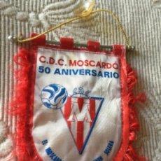 Coleccionismo deportivo: BANDERIN DE FUTBOL , CLUB DEPORTIVO MOSCARDO , USERA , MADRID , 1995 , 50 ANIVERSARIO. Lote 270363753