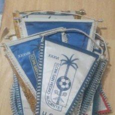 Coleccionismo deportivo: LOTE 14 BANDERINES COPA SAN PEDRO ALICANTE AÑOS 80-90. Lote 268163639