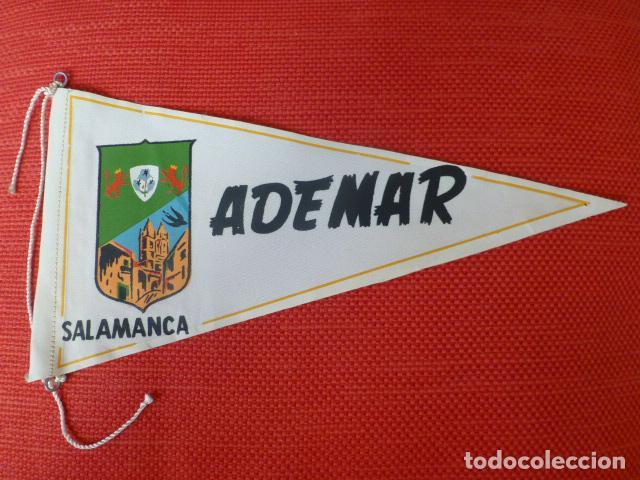 CLUB DE FUTBOL ADEMAR SALAMANCA BANDERIN AÑOS 50 (Coleccionismo Deportivo - Banderas y Banderines de Fútbol)