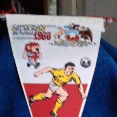 Coleccionismo deportivo: CHILE CAMPEONATO MUNDIAL DE FUTBOL 1966 BANDERIN DE GIOR. Lote 277114383