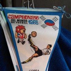 Coleccionismo deportivo: COREA CAMPEONATO MUNDIAL DE FUTBOL 1966 BANDERIN DE GIOR. Lote 277114733