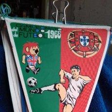 Coleccionismo deportivo: PORTUGAL CAMPEONATO MUNDIAL DE FUTBOL 1966 BANDERIN DE GIOR. Lote 277151598