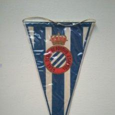 Coleccionismo deportivo: ANTIGUO BANDERÍN REAL CLUB DEPORTIVO ESPAÑOL. Lote 278412963