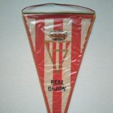 Coleccionismo deportivo: ANTIGUO BANDERÍN REAL SPORTING DE GIJÓN. Lote 278413038