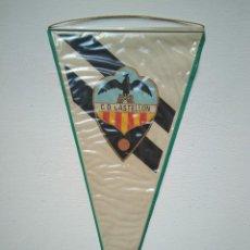 Coleccionismo deportivo: ANTIGUO BANDERÍN C. D. CASTELLÓN. Lote 278413118