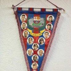 Coleccionismo deportivo: BANDERIN F.C. BARCELONA TEMPORADA 1973/74 (LEER). Lote 283465428