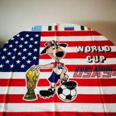 Collezionismo sportivo: RESERVADO ANTIGUA BANDERA DEL MUNDIAL DE FUTBOL USA 94 ESTADOS UNIDOS 1994 BUFANDA. Lote 286999008
