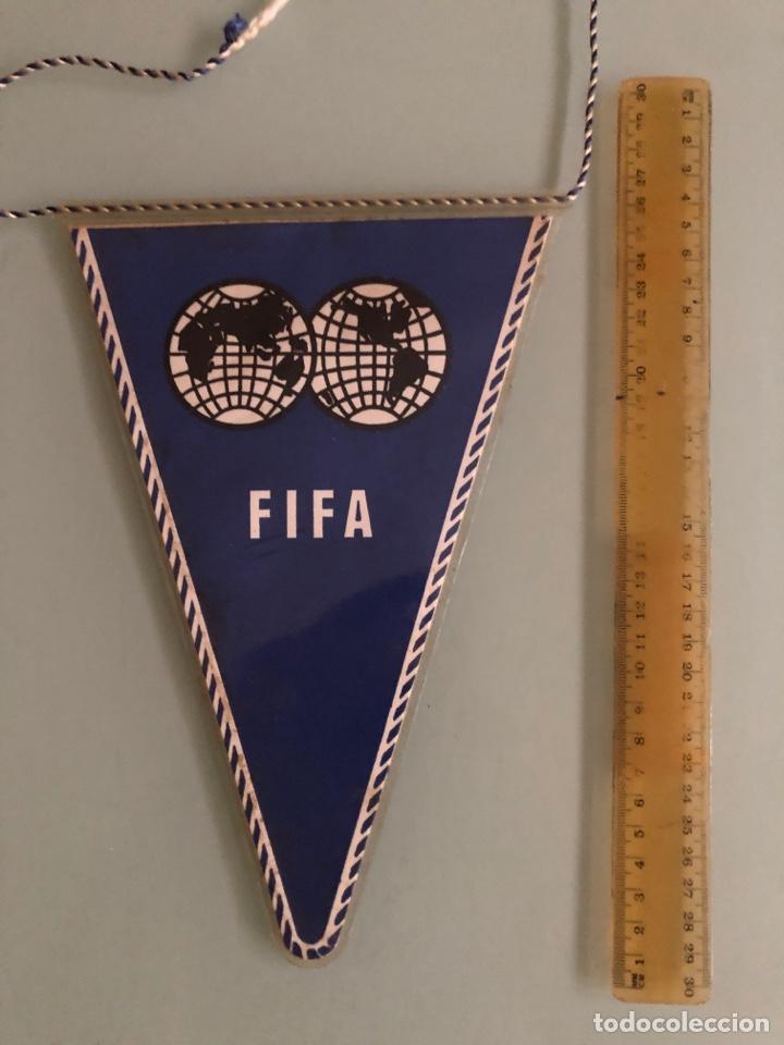 Coleccionismo deportivo: 1962 Chile mundial Banderin oficial FIFA - Foto 2 - 288308693