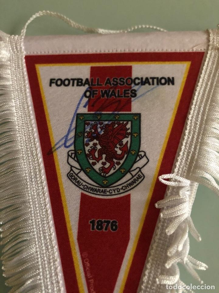 Coleccionismo deportivo: Football Association of Gales Banderin - Foto 2 - 288309038